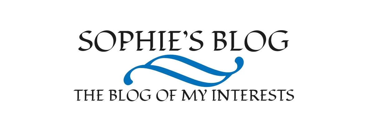 Sophie's Blog Header