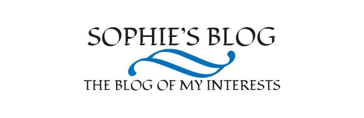Sophie's Blog Header